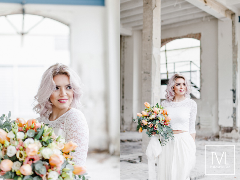 TML TABEA MARIA-LISA hochzeitsfloristik hochzeitsdekoration brautstrauss floral design wedding styling urban modern free people vintage wild peach weddingflowers-30