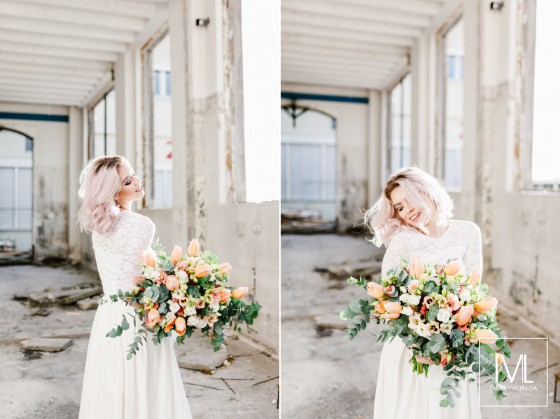 TML TABEA MARIA-LISA hochzeitsfloristik hochzeitsdekoration brautstrauss floral design wedding styling urban modern free people vintage wild peach weddingflowers-33