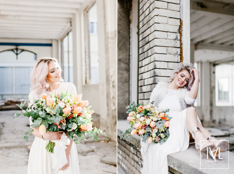 TML TABEA MARIA-LISA hochzeitsfloristik hochzeitsdekoration brautstrauss floral design wedding styling urban modern free people vintage wild peach weddingflowers-36