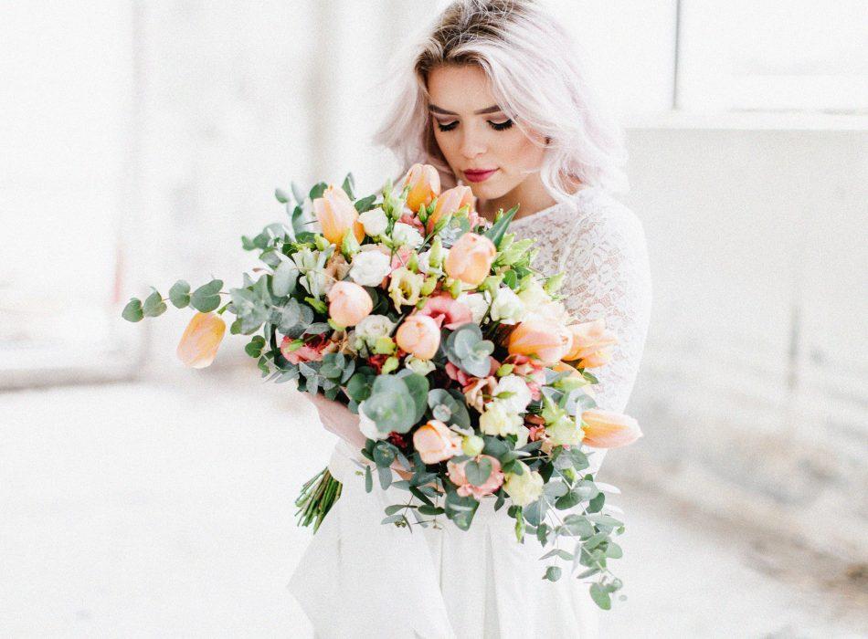 Tabea Maria-Lisa TML Floristik und Dekoration Hochzeit Events Tulpenstrauss