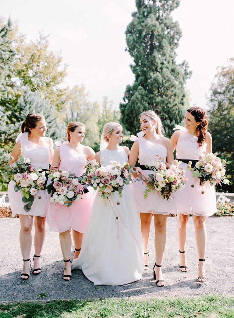 TML Tabea Maria-Lisa Floral Designer Swiss Wedding Florist Portfolio Bridesmaids
