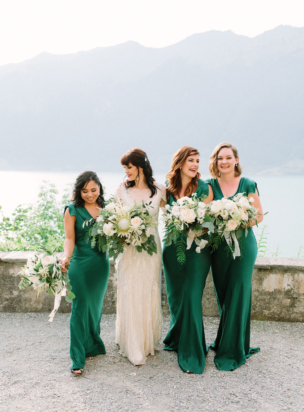 TML Tabea Maria-Lisa Floral Designer Swiss Wedding Florist Portfolio Bridesmaids Destination Wedding Grandhotel Giessbach
