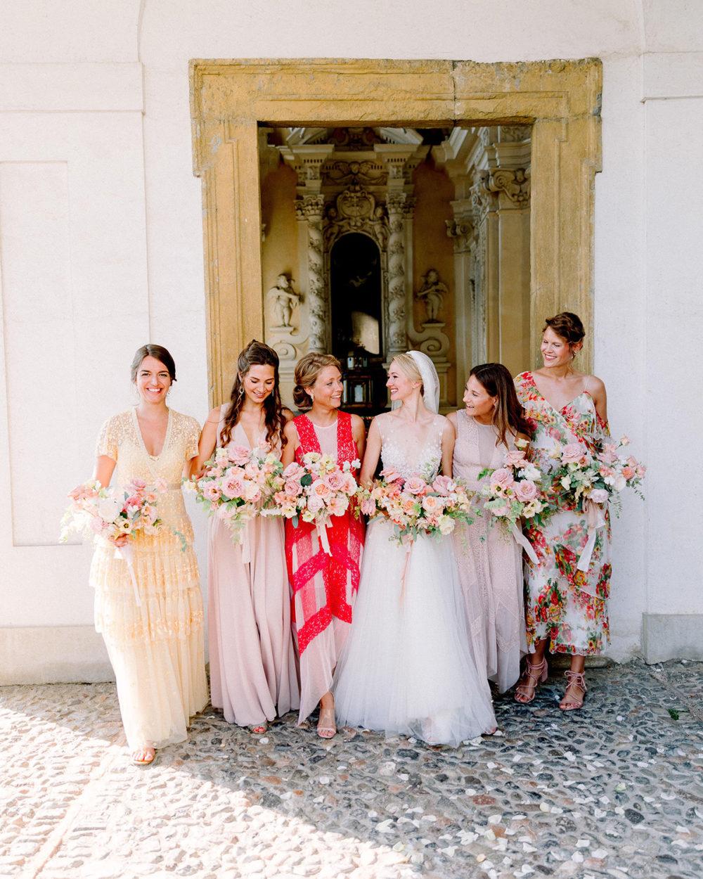 TML Tabea Maria-Lisa Floral Designer Swiss Wedding Florist Portfolio Bridesmaids Destination Wedding Lugano Morcote