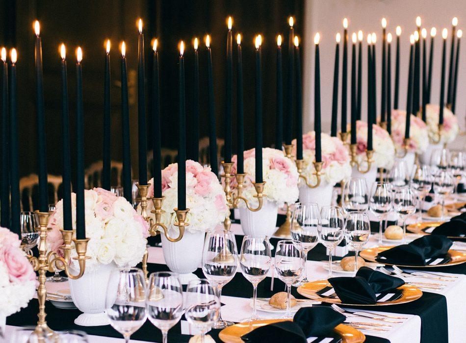 Hochzeit Hotel Restaurant Storchen Zürich Stadthochzeit Switzerland Wedding Zurich Floral Design Event Styling black and white rose and gold luxury wedding