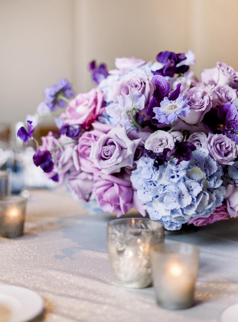 Chuppah, jewish wedding, the alpina gstaad, luxury wedding switzerland, aisle flowers, blumen baldachin, zeremoniedekoration, hochzeitsfloristik, ceiling, purple, silver